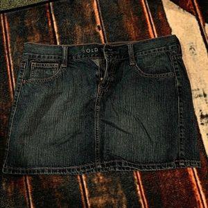 Jean Skirt!